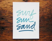 Image of Surf Sun Sand