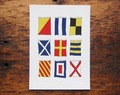 Image of Nautical Flags