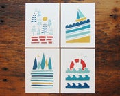 Image of Land + Sea Card Set