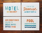 Image of Motel Card Set