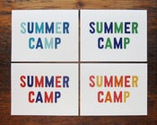 Image of Summer Camp Card Set