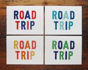 Image of Road Trip Card Set