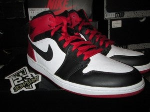 "Image of Air Jordan I (1) Retro Mid ""Old Love"""
