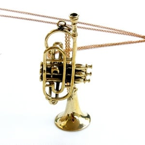 Image of Adorable - Sound of the Fanfare Necklace