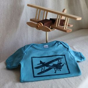 Image of Bi-Plane Toy and Shirt Gift Set