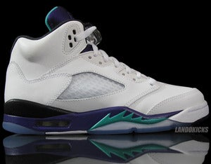 Image of Nike Air Jordan 5 Retro GS 'Grape'