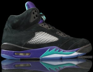 Image of Nike Air Jordan 5 Retro 'Black Grape'