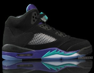 Image of Nike Air Jordan 5 Retro GS 'Black Grape'