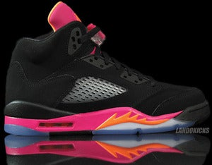 Image of Nike Air Jordan 5 Retro GS 'Bright Citrus'