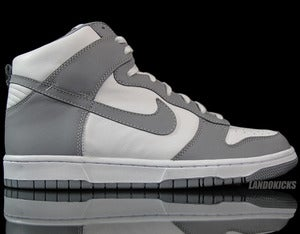 Image of Nike Dunk High ID 'Gry/Wht'