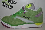 "Image of Reebok Court Victory Pump X Packer Shoes ""Wimbledon"""