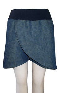 Image of Curve Skorts in Various Fabrics