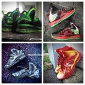 Image of Your favorite superhero/ villain theme on Lebron 9 or 10