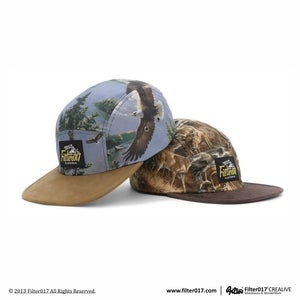 Filter017 5 Panel Camp Cap (Wild Animal Series 2)