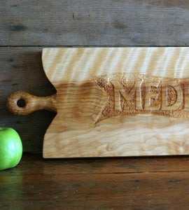 Image of Personalized Serving Board