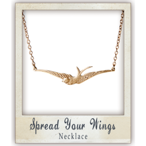 Image of Spread Your Wings Necklace
