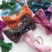Image of Glitter Bow Ring