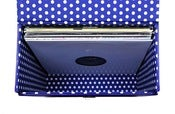 "Image of Cobalt Blue Leather 12"" Record Box (Ltd Edition)"