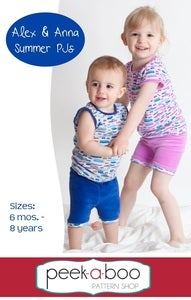 Image of Alex & Anna Summer PJs
