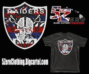 Image of 5 ZERO  Hawaiian Raider Nation  FREE SHIPPING
