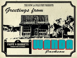 Image of Wanda Jackson - Pappy & Harriets