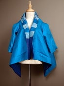 Image of Reversible Silk Jacket with Embroidery . J27