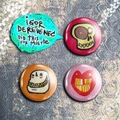Image of Badge IGOR DEREVENEC PROJECT Y for miette