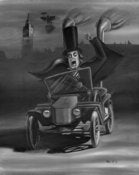 Image of London After Midnight Hot Rod Print