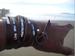 Image of Blessings Brand Large Cognac Bracelet