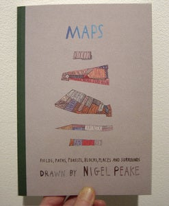 Image of Nigel Peake 'Maps' Book