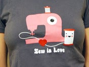 Image of Sew in Love T-shirt