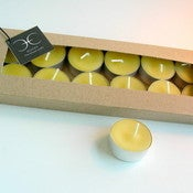 Image of Boxed Set 12 Beeswax Tealights