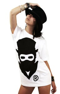 Image of Masked Logo (White) (Womens)