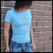 Image of Plaid Hammers Girls Tee