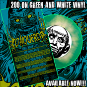 Image of CONQUEROR 5 SONG 7 INCH WITH CREATURE COVER / SEA FOAM GREEN AND WHITE VINYL