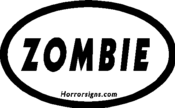 "Image of ""Zombie"" Bumper Sticker"