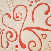 Image of 'Love Fizz', Letterpress Card