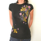 Image of Gold Koi women's T (size MED out of stock)