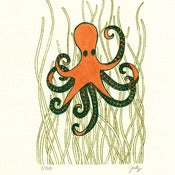 Image of IT'S AN OCTOPUS : limited edition screenprint