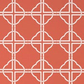 Image of asian trellis wallpaper