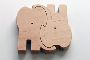 Image of ZOOMADERITA PUZZLE ELEPHANT