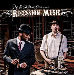 "Image of Prof & St. Paul Slim ""Recession Music"" CD"
