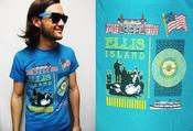 Image of OLD/SWEET AS CRAP ELLIS ISLAND T-SHIRT