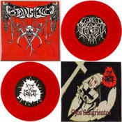 Image of 7&quot; split with Sale Sangre aka Manias (NM) Red Vinyl