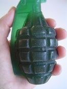 Image of Army Green Hand Grenade Soap, Olive Oil