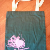 Image of &quot;Hearts&quot; Tote bag