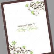 Image of Personalized Stationery Set :: Bliss