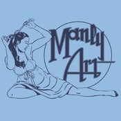 "Image of Manly ""Art Nouveau"" Tees-Mens"