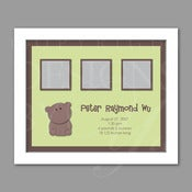Image of Keepsake Frame :: Teddy