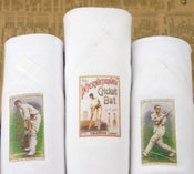 Image of Box of III Men's Handkerchiefs: Cricket